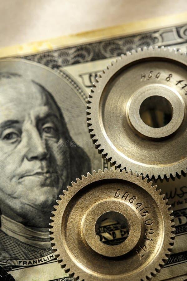 Download Mechanische Pallen En Dollar Stock Afbeelding - Afbeelding bestaande uit financieel, motor: 54078297