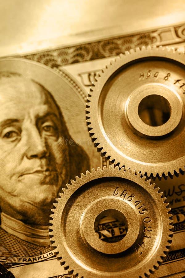 Download Mechanische Pallen En Dollar Stock Afbeelding - Afbeelding bestaande uit detail, toestel: 54078307