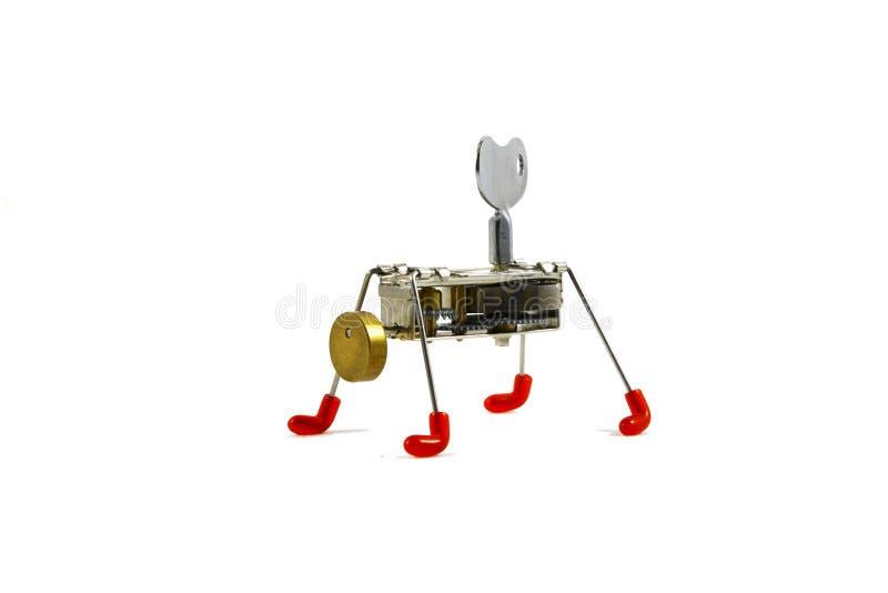 Mechanische Robot royalty-vrije stock foto's
