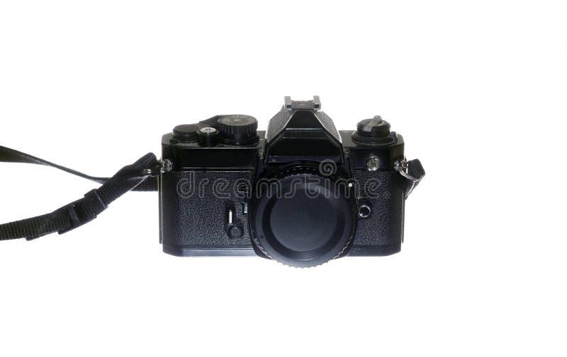 Mechanische SLR-camera royalty-vrije stock foto's