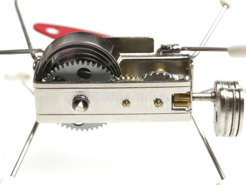 Mechanische Spielzeugvorrichtung stockfotografie