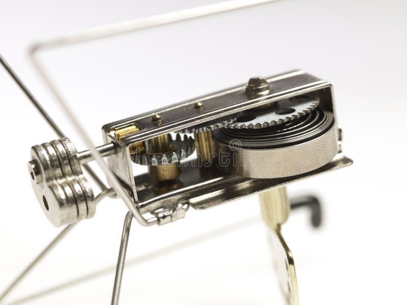 Mechanische Spielzeugvorrichtung lizenzfreies stockbild