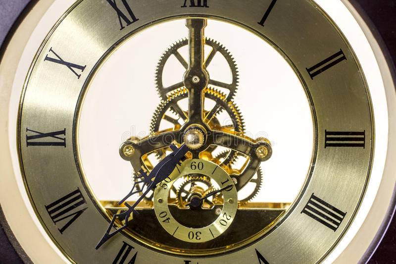 Mechanische Uhren stockfotografie