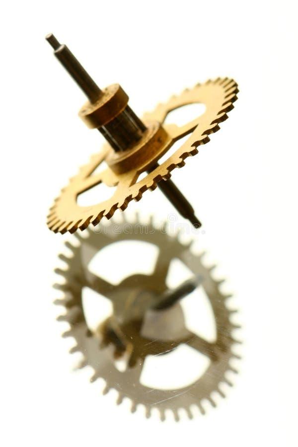 Mechanischer Borduhrgang lizenzfreies stockbild