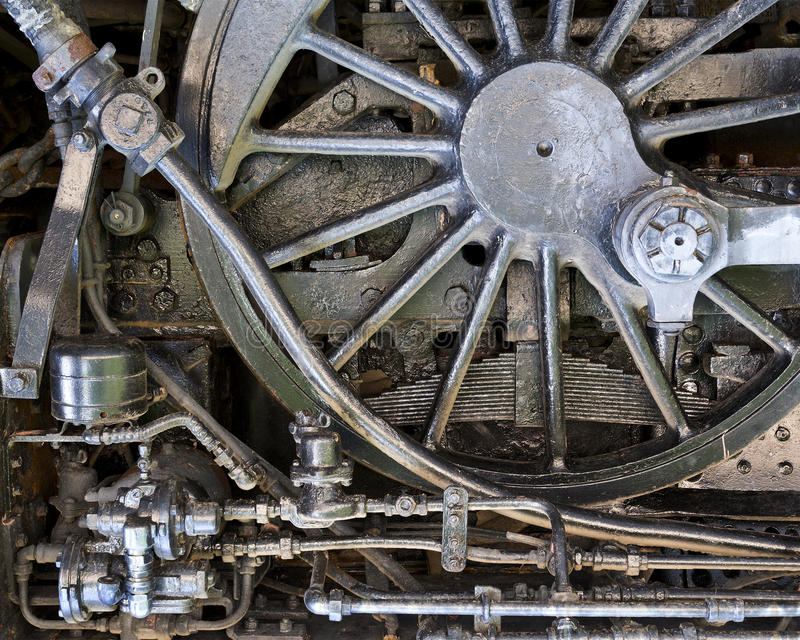 mechanischer Hintergrund des Dampf-Punks lizenzfreie stockfotografie