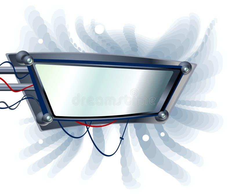 Mechanisches Zeichen vektor abbildung