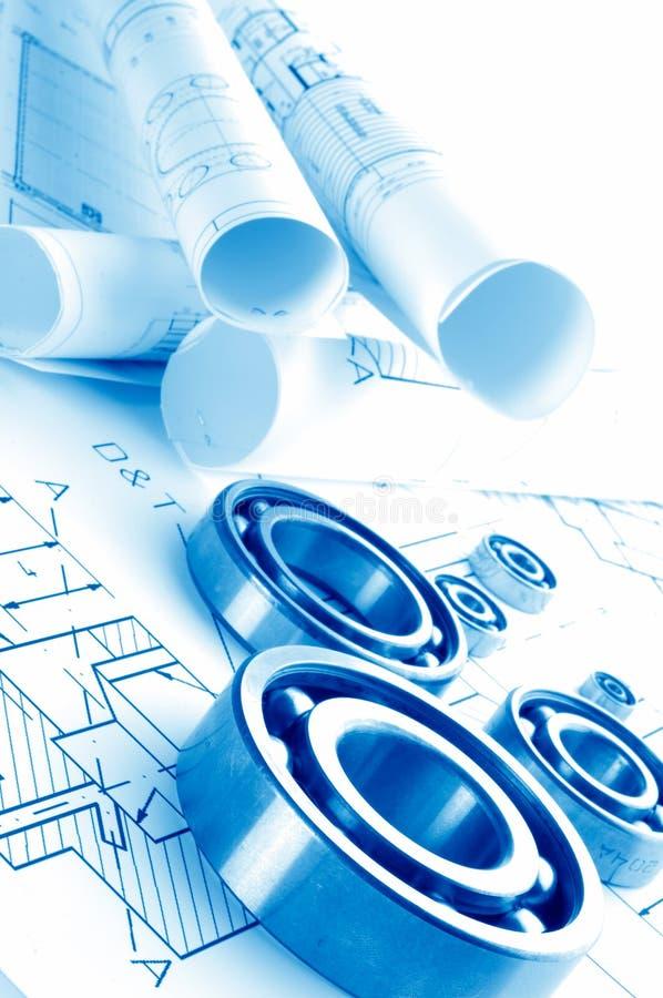 Mechanisches Zeichnen lizenzfreies stockfoto