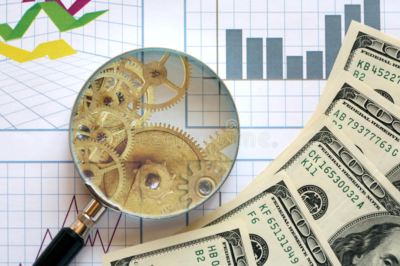 Download Mechanism Of Business stock photo. Image of glass, finance - 31219576