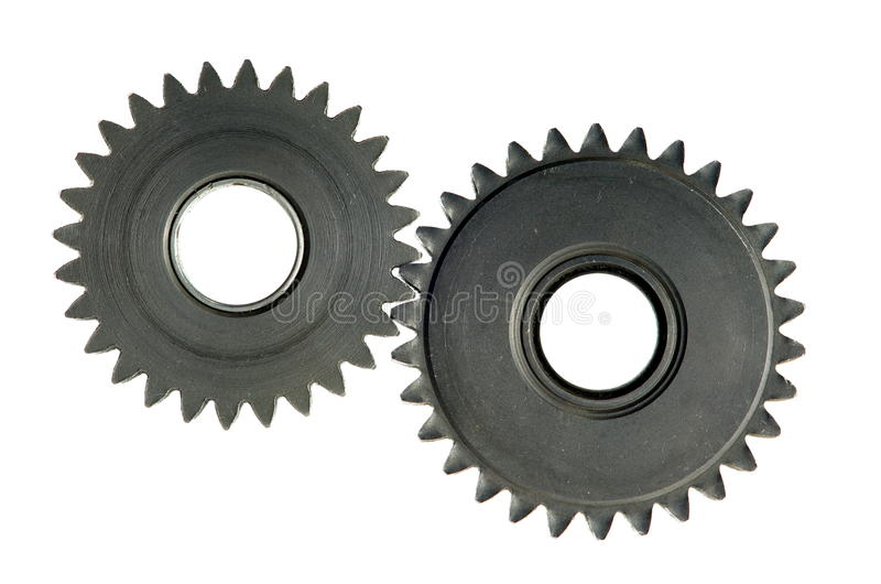 Download Mechanism with cog-wheels stock photo. Image of technique - 26577428