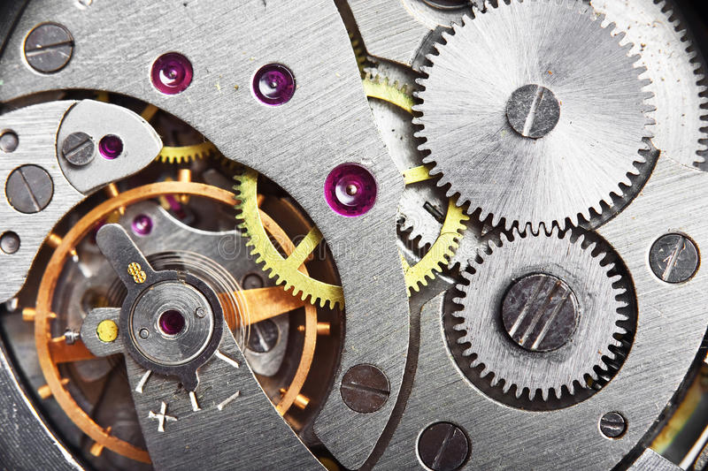 Download Mechanism gear stock photo. Image of clock, background - 15662820