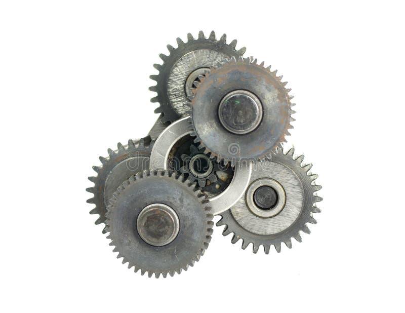 Mechanizm z cog-wheels zdjęcie stock