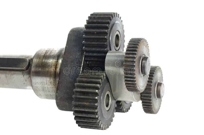 Mechanizm z cog-wheels obrazy stock