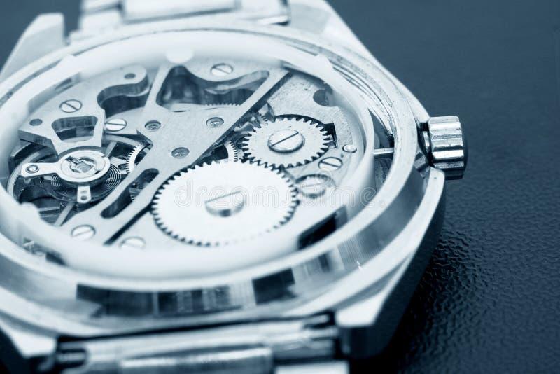 mechanizmu zegarek obraz royalty free