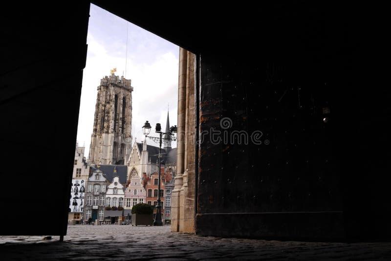 Mechelen royaltyfri fotografi