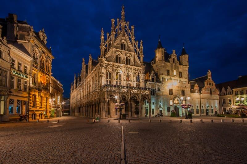 Mechelen, Grote Markt fotos de stock