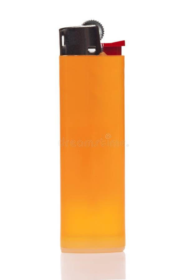 Mechero anaranjado fotos de archivo libres de regalías
