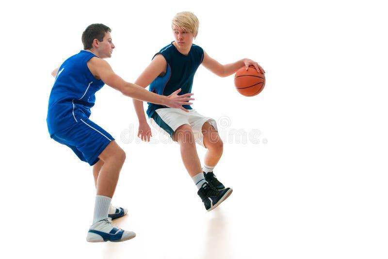 mecz koszykówki obraz royalty free