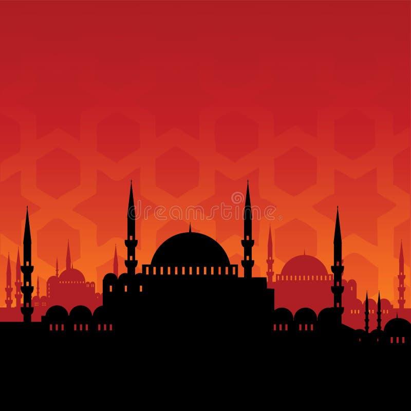 meczet ilustracji