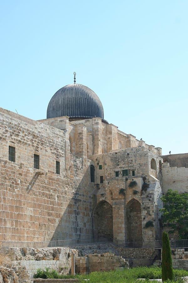 meczet al aqsa fotografia stock