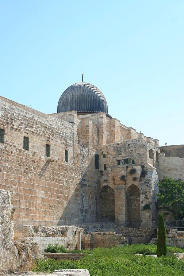 meczet al aqsa obrazy stock