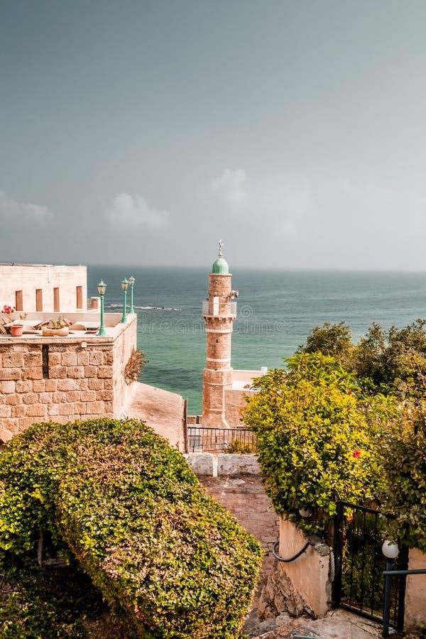Meczet Al-Bahr w Jaffie, Izrael obrazy royalty free