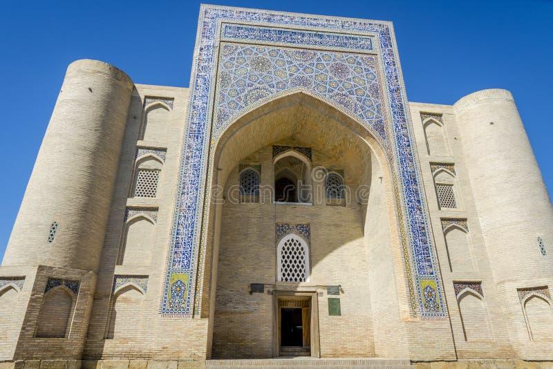 Meczet, Bukhara, Uzbekistan obrazy stock