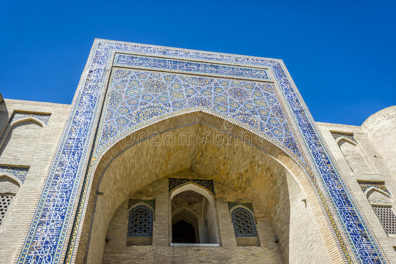 Meczet, Bukhara, Uzbekistan fotografia stock