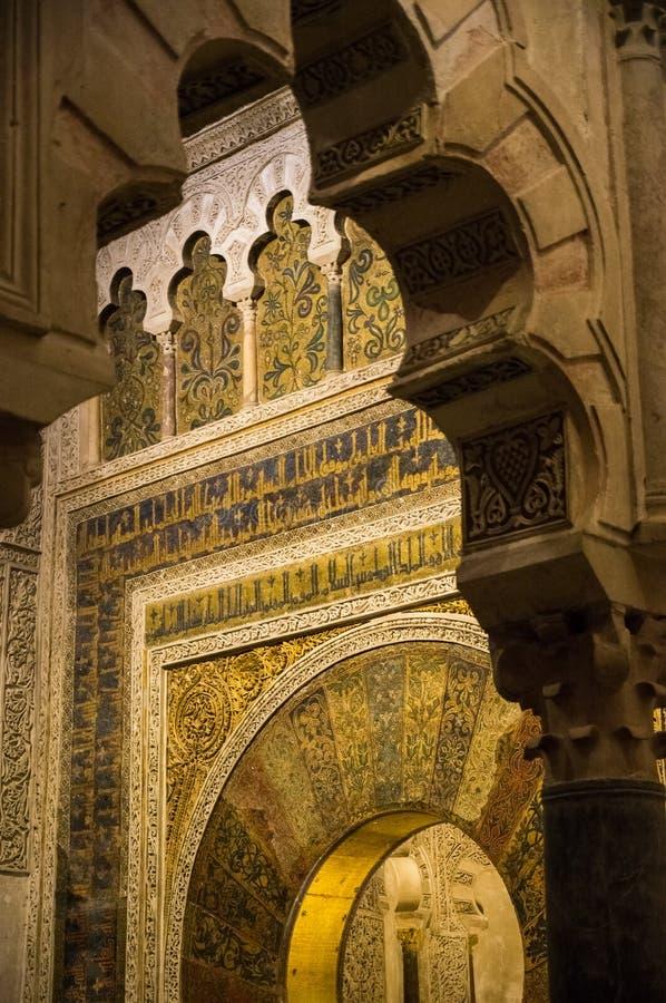 Meczet cordoba zdjęcia stock