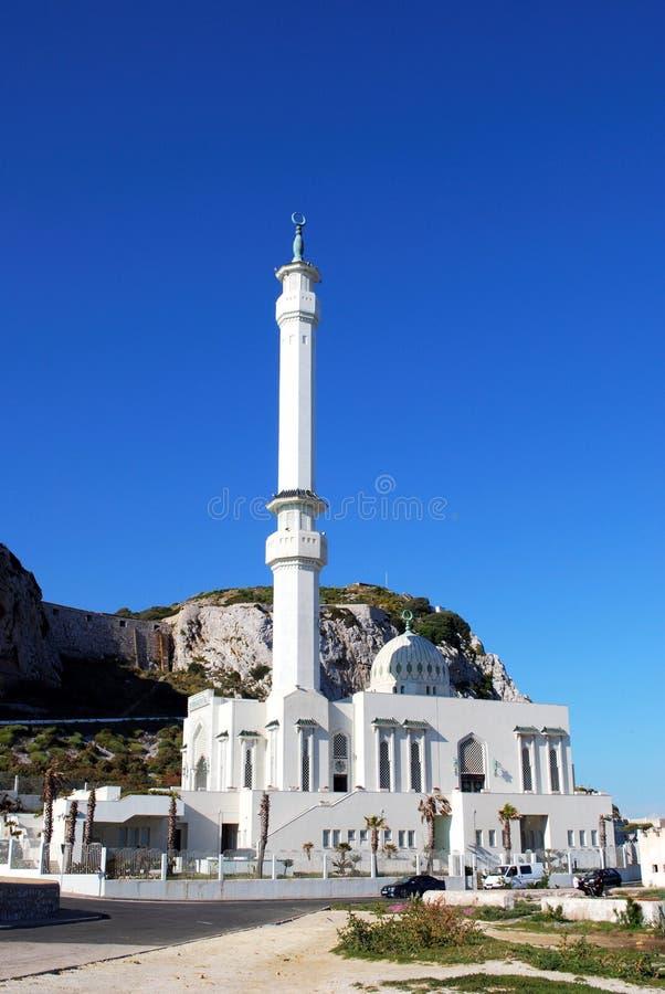 Meczet, Gibraltar zdjęcie stock