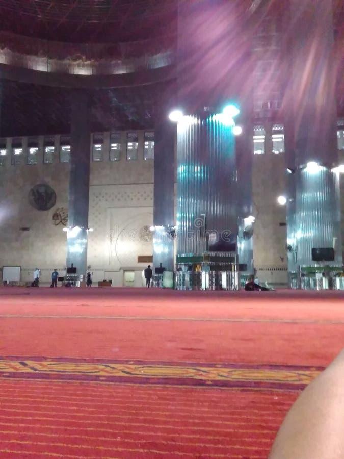 meczet istiqlal obrazy stock