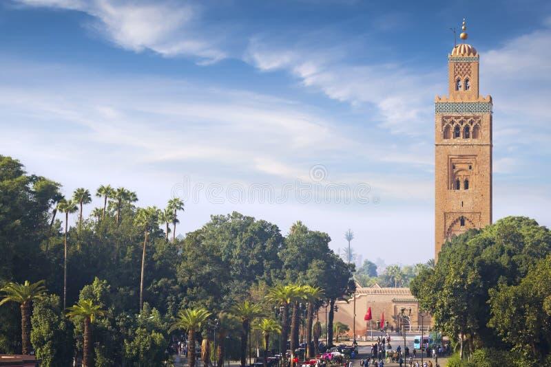 Meczet Marrakech obrazy stock