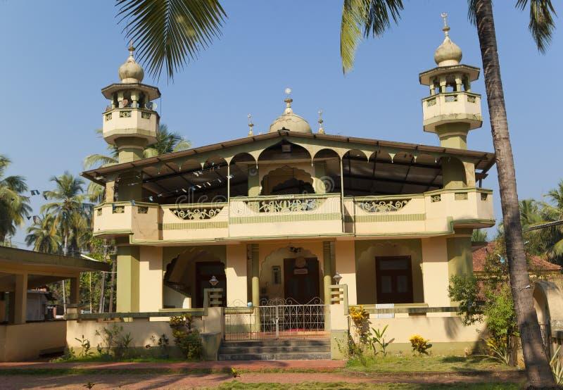 Meczet przy Ponda, Goa, India zdjęcie stock