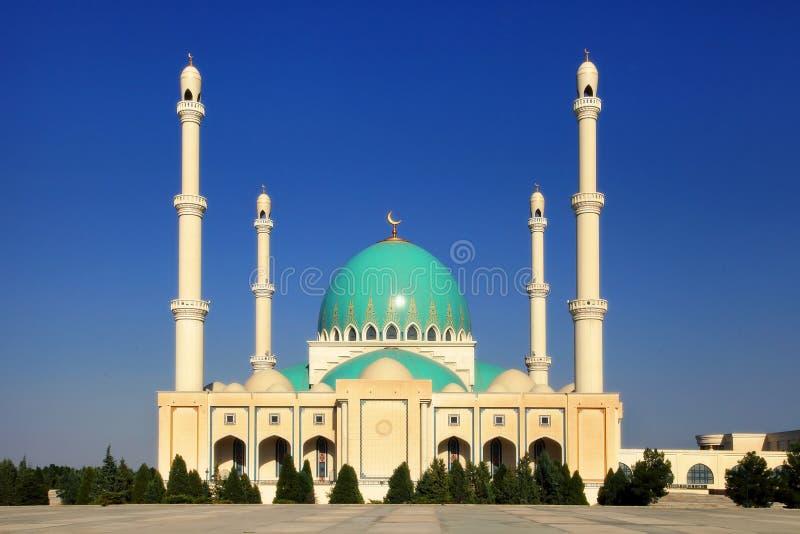 Meczet w Geok Depe Turkmenistan fotografia royalty free