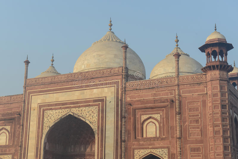 Meczet w India fotografia stock