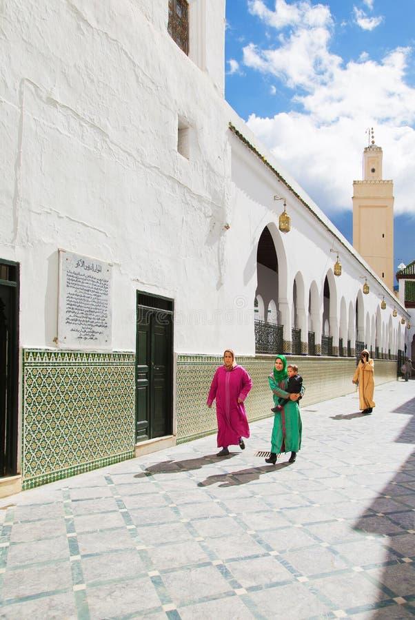 Meczet w Meknes, Maroko obraz stock