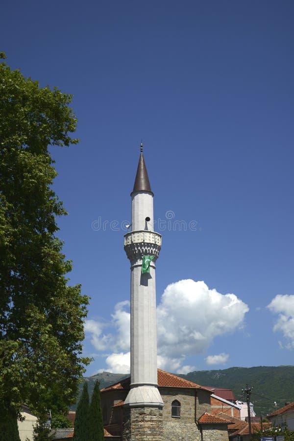 Meczet w Ohrid, Macedonia zdjęcie stock