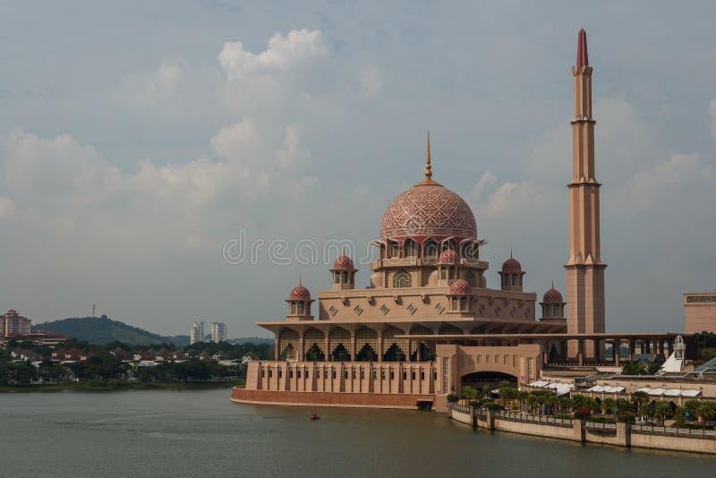 Meczet w Putrajaya zdjęcie stock