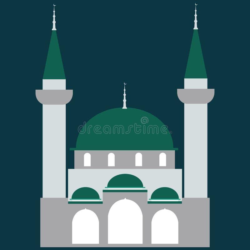 Meczetowa ikona Meczetowy wektor ilustracja wektor
