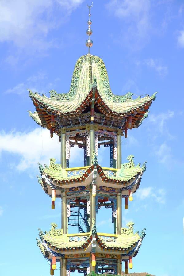 Meczetowa pagoda obrazy royalty free