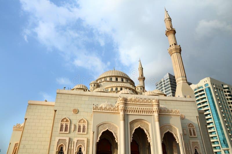 meczetowy al noor Sharjah uae obrazy royalty free