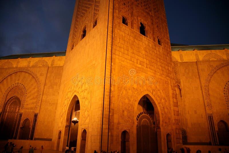 Meczetowy Hassan II obrazy royalty free