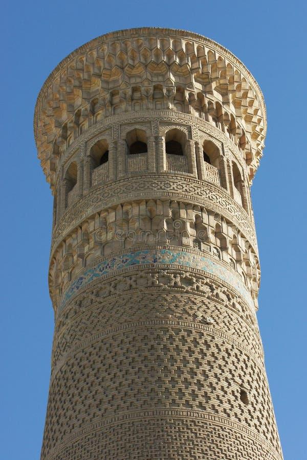 Meczetowy Kalon, Bukhara, Uzbekistan zdjęcia stock