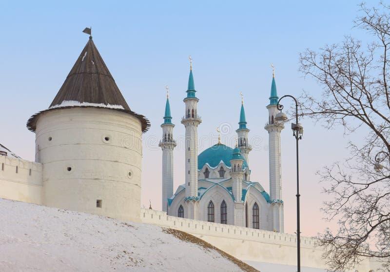 meczetowy Kazan qolsharif Kremlin Russia zdjęcia stock