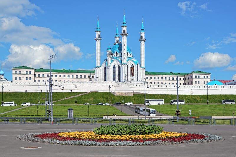 meczetowy Kazan qolsharif Kremlin Russia zdjęcie stock
