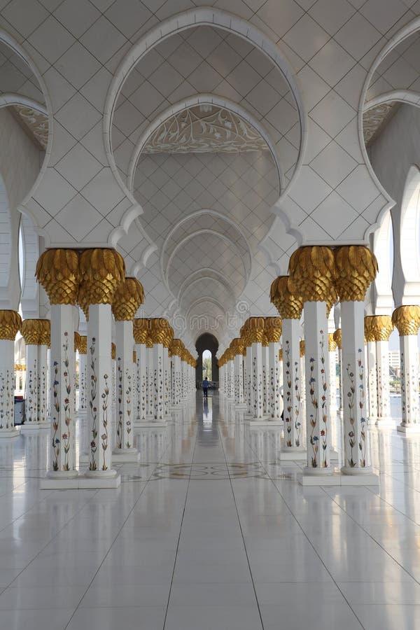 Meczetowy korytarz obrazy royalty free