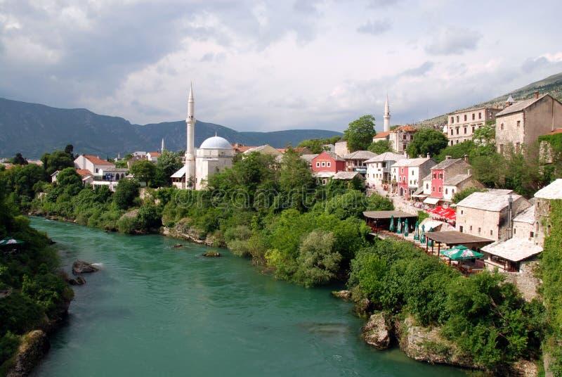 meczetowy Mostar obrazy stock