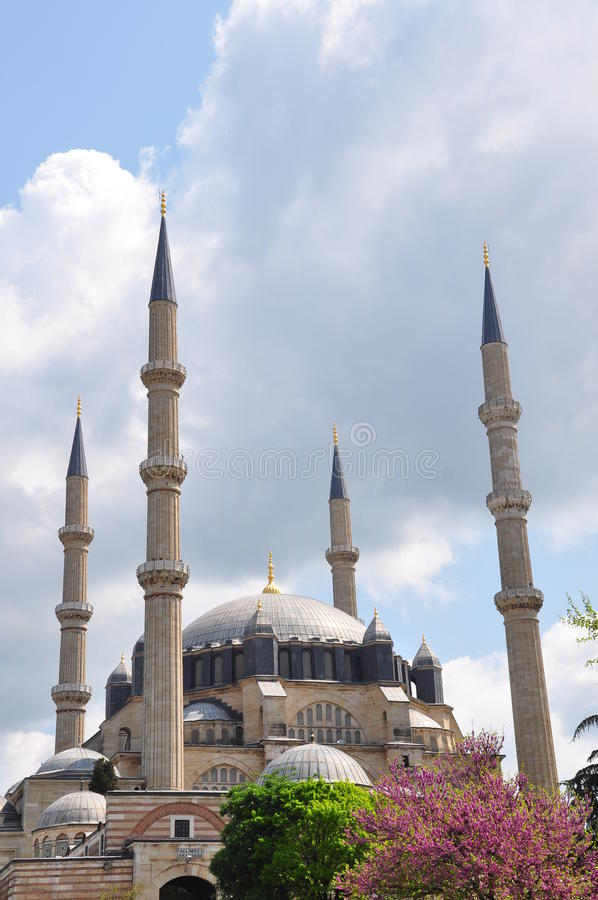 meczetowy selimiye zdjęcie stock
