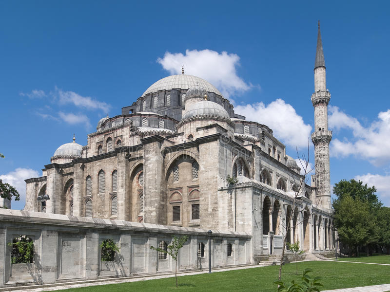 meczetowy suleymaniye zdjęcia royalty free