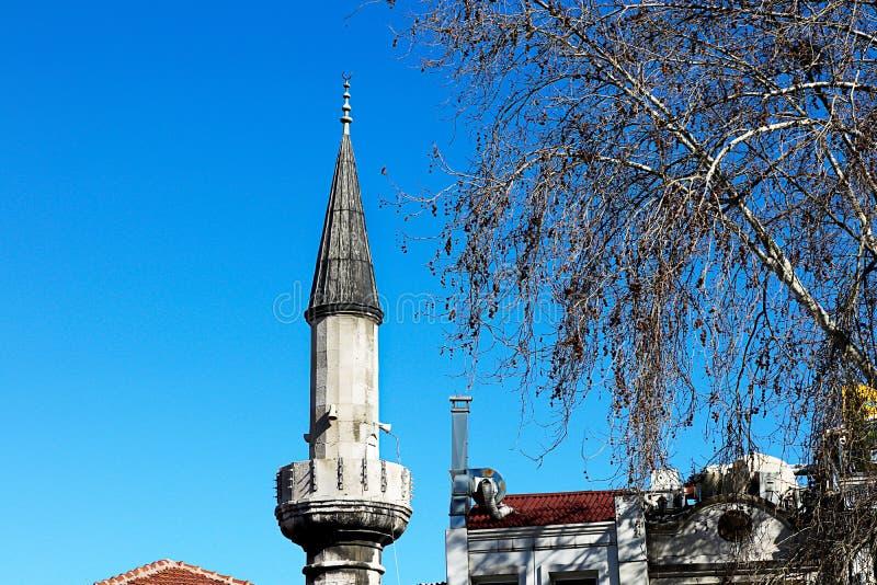 Meczety i niebieskie niebo zdjęcia royalty free