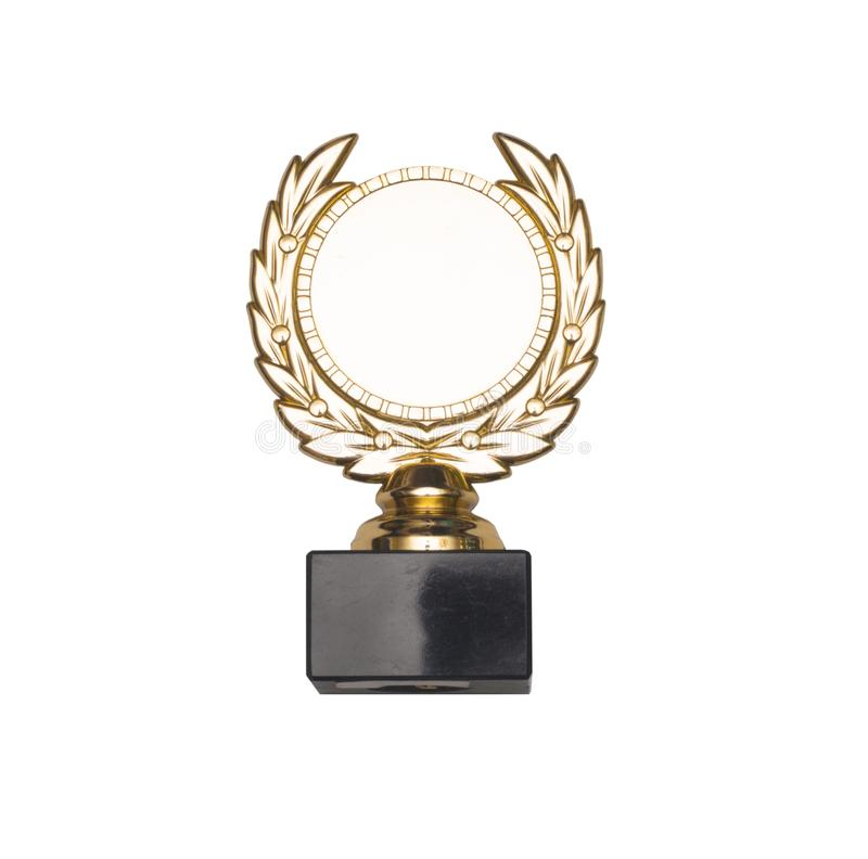 Medaglia d'oro immagine stock